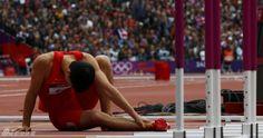 劉翔摔倒了,大陸人民心都碎了,這種感覺我懂,幾年前王建民扭傷腳,我也是這種感覺!