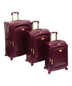 Amelia Earhart luggage set.