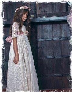 Resultado de imagen para vestidos de comunion vintage 2015