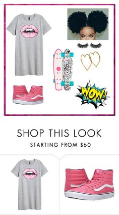 """""""Sem título #91"""" by angelica-curitiba ❤ liked on Polyvore featuring Vans and Chanel"""