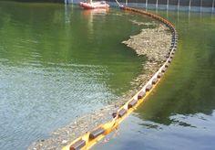 BARRERA ANTITURBIDEZ. BC650HDS/BC900HDS. Permite la contención de los sedimentos que generan turbidez en trabajos de dragado o movimiento de tierras.