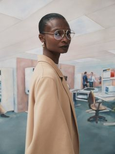 Nagi Sakai for Vogue Spain with Debra Shaw Business Photos, Business Fashion, Vogue Spain, Character Costumes, Office Looks, Fashion Stylist, Editorial Fashion, Stylists, Poses