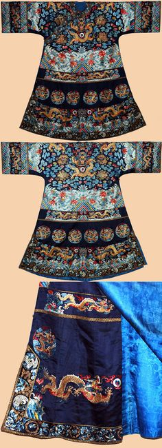 Chinese Imperial Robe 1800-1900 found at: textileasart.com