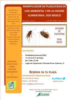 Manipulador de Plaguicidas de Uso Ambiental y en la Higiene Alimentaria. DDD Básico.