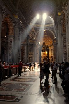 basilica san pietro rome by Insider Rome, via Flickr