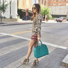 prints and fringe for today's look at #rsthecon | sign up with @liketoknow.it to get all outfit details sent to your email www.liketk.it/1jHwb #liketkit #Padgram