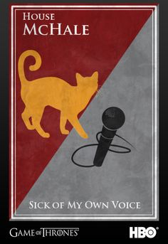 Kevin McHale's Sigil #gameofthrones #kevinmchale #glee #jointherealm