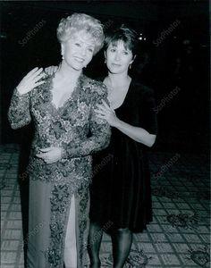 CA123 1992 Debbie Reynolds Daughter Carrie Fisher Thalians Ball Orig Photo