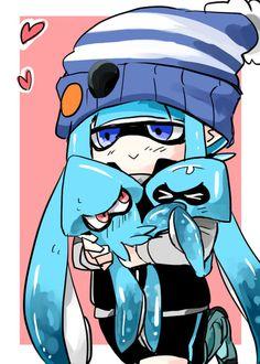 「【マイイカ】すぷらとぅんまとめ【番外編】※再投稿」/「とぅるう」の漫画 [pixiv] #Inkling #squid