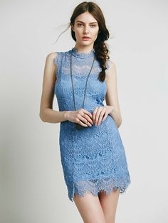 Free People Daydream Bodycon Slip, $98.00
