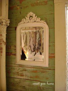 white mirror...