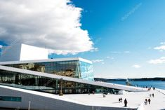 Oslo Opera House, Editorial Photography, Norway, Louvre, Stock Photos, Building, Illustration, Travel, Design