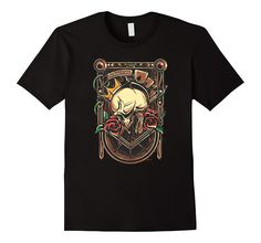 The King's Crown Skull Art T-Shirt   100% Cotton   Imported   Machine wash cold with like colors, dry low heat   Detailed graphic design printed on the front   Street art style, hip hop, urban clothing for men  Lightweight, Classic fit, Double-needle sleeve and bottom hem   Ships from and sold by Amazon.com