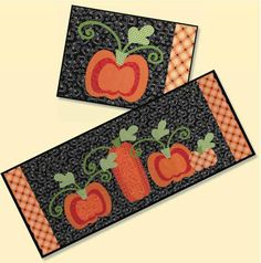 12 Charming Pumpkin Patterns for Quilters - Quilting Digest