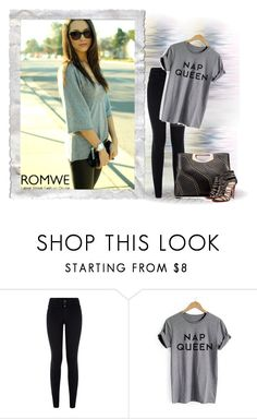 """""""Romwe.com"""" by aneto-j ❤ liked on Polyvore featuring New Look and Christian Louboutin"""