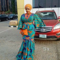 Ankara fabric can never go into extinction. Nigerians keep embracing new and beautiful Ankara styles and designs. The amazing part is that Ankara fabric can be cut into just… Beautiful Ankara Styles, Trendy Ankara Styles, Ankara Gown Styles, Ankara Gowns, Ankara Dress, Ankara Fabric, African Print Dresses, African Wear, African Attire