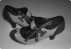 M Tutorial para decorar unos zapatos viejos
