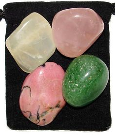OVERCOMING HEARTACHE Tumbled Crystal Healing by TheMagicIsInYou, $4.99