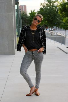 50 Shades of Grey-ish: Shop the look @ExpressLife look at Express.com! #EXPRESSJEANS