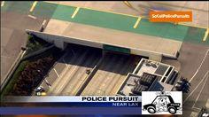 California High Speed Police Chase Burglary Suspect In Stolen Ford Tauru...