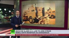"""US law to arm Syrian rebels a hostile decision, directly threatens Russi...  Published on Dec 28, 2016 The latest National Defense Authorization Act signed into law by President Barack Obama is a """"threat"""" to Russians in Syria, Moscow says, as the bill """"openly stipulates the possibility"""" of delivering more weapons which might """"soon"""" end in the hands of terrorists."""