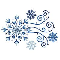 LARGE CRYSTAL SNOWFLAKE GROUP EMBROIDERY DESIGN 429