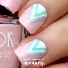 to do cute pastel chevron nailsHow to do cute pastel chevron nails What do you think about this? 111 beautiful winter nail art designs that will melt your heart page 27 Stylish Nails, Trendy Nails, Cute Nails, Chevron Nails, Beautiful Nail Art, Gorgeous Nails, Nail Art Modele, Gel Nagel Design, Nagellack Trends