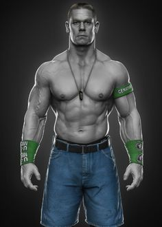 ArtStation - John Cena done for WWE, Hossein Diba❤👌🙋! John Cena Pictures, Wwe Lucha, Jone Cena, Cena Wwe, Catch, Mr Men, Wrestling Superstars, Aj Styles, Professional Wrestling
