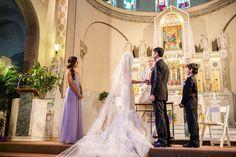 Darci & Phil's gorgeous wedding was featured on #InsideWeddings !