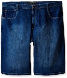 Southpole Mens BigTall 4180 Denim Short In Relaxed Fit ** See this great product.