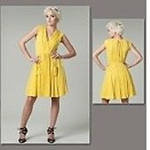 Schnittmuster Vogue 1225 Kleid - Vogue Schnittmuster Kleider - im Online-Shop günstig kaufen