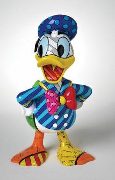 Disney Britto 4023844 Donald Duck Figurine NEW in BOX 15441 | eBay