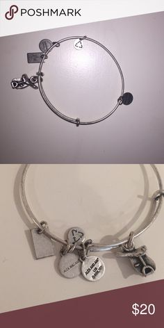 Alex & Ani horse saddle rusted sliver bracelet Brand new! Never been worn. This bracelet would make for a perfect gift for someone who loves horseback riding or to complete a track/derby outfit Alex & Ani Jewelry Bracelets