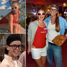 I am sooo doing this some day!!!- '90s Halloween Costumes For Couples: Wendy Peffercorn and Squints From The Sandlot