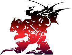 Final Fantasy 6 large logo without words for details ---- Final Fantasy VI logo by eldi13.deviantart.com on @deviantART