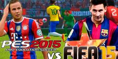 Video Spotlight FIFA 15 vs PES 2015 - The two titans of futbol, FIFA 15 and Pro Evolution Soccer, go head-to-head in this PlayStation 4 gameplay and graphics comparison. Both games claim to provide the most
