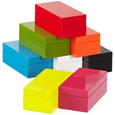 X-Small Lacquered Rectangular Box- for sunglasses