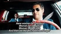 Women be stoppin'