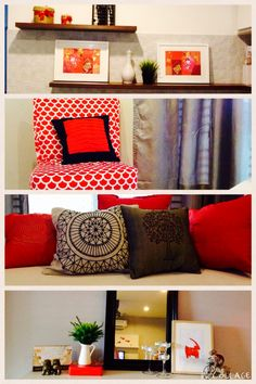 Decorative cushion cover pillow case chinese style red for Home decorations for new year