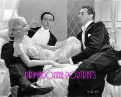 "MIRIAM HOPKINS, GARY COOPER, & FREDRIC MARCH Photo ""DESIGN FOR LIVING"" PORTRAIT"