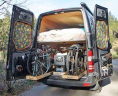 Un van pour les amoureux de VTT