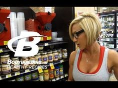 ▶ Healthy Recipes: Jamie Eason's Tips for Healhty Grocery Shopping - Bodybuilding.com - YouTube