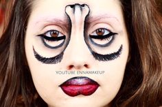 TUTORIAL ON MY YOUTUBE CHANNELLINK IN THE BIO  #makeup #MUA #cliomakeup_official  #halloween #motd #bblogger #makeupartist  #illusion  #fashionblogger #facepaint  #maya_mia_y #beautyblogger #instalike #bbloggers #instafollow #instagood  #art #bodypaint #bodyart #amazing  #makeup  #beauty #mehronmakeup #makeupoftheday #vegas_nay  #jordanhanz #upsidedown #makeupforever #mehron @vegas_nay  @mehronmakeup @mehronuk @cosmobeauty_it @cosmopolitan_it @makeupforeverofficial