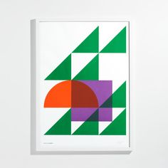 Geometry Print by Alex Fuller for Unison