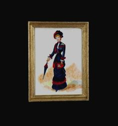 Dollhouse Miniature Painting Original Artwork 112 by MiniatureJoy, £26.75
