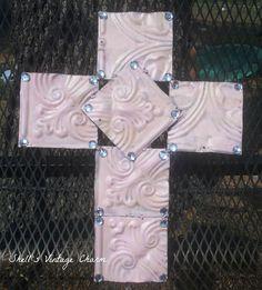 vintage tin tiles | Shell's Vintage Charm: Antique Tin Ceiling Tiles