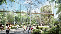 Pour nourrir l'ensemble de sa population et palier le manque de terres agricoles, Shanghai veut ériger la plus grande ferme verticale au monde : cent hectares.