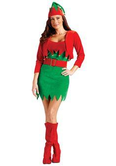Sexy Elfalicious costume #Christmas #Elf #Santa