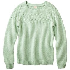 Fabulous Find of the Week: Target Cable Knit Sweater. Amazing article with fashion inspiration