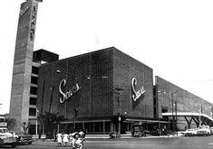 Tienda Sears de ls zons de Lindavista, en el norte de la Ciudad de Mexico.